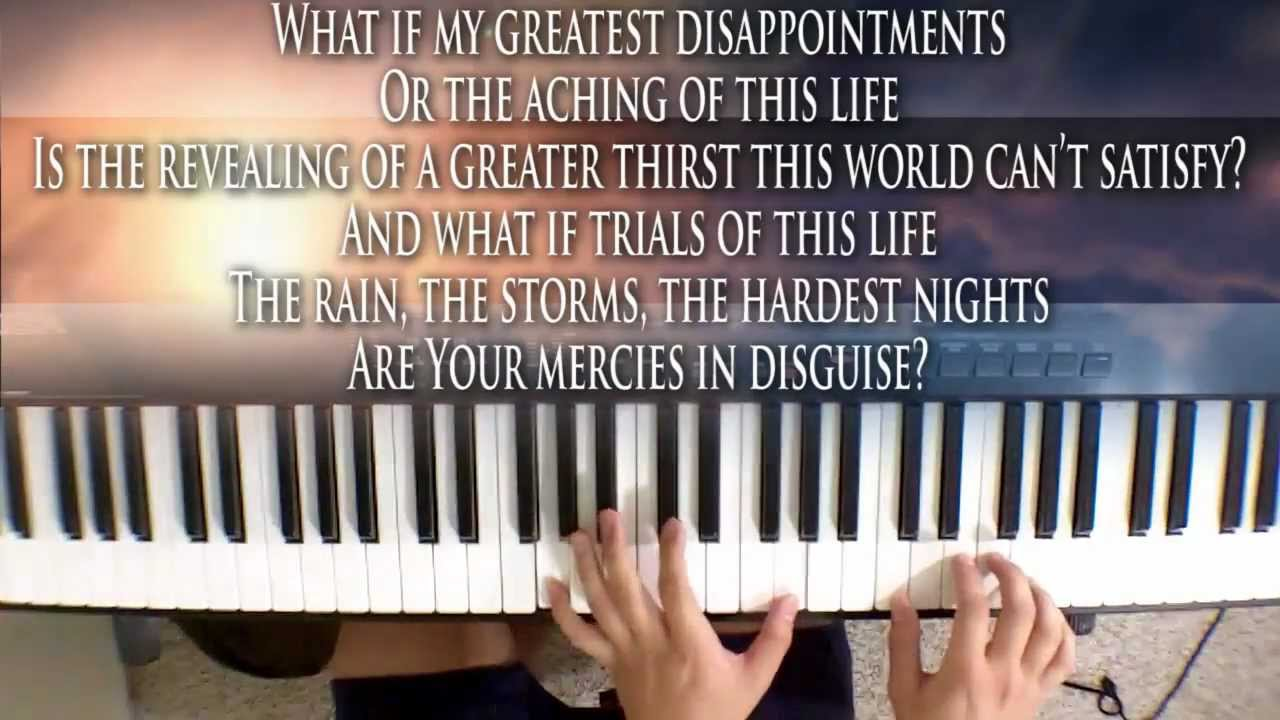 Laura story blessings piano cover youtube hexwebz Gallery