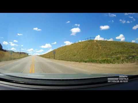 Dashcam Saratoga, WY to Colorado via Snowy Range Road (130)