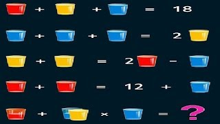 Glasses and Water puzzle | 90% failed to solve this.