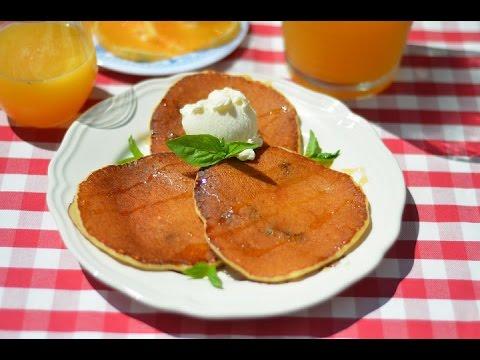 Творожные блинчики на завтрак