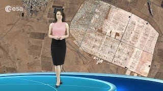 Earth from Space: Jordanian camp