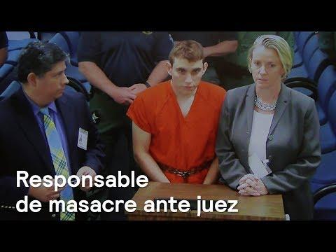 Nikolas Cruz comparece ante un juez en Florida