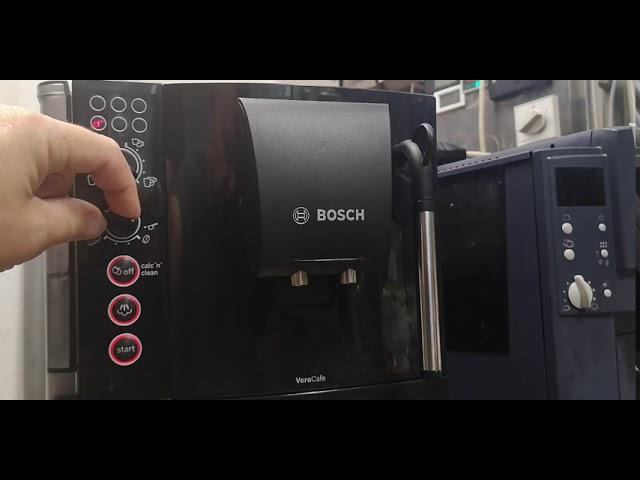 Bosch VeroCafe TES501.. kávéfőző vízkeménység beállítása