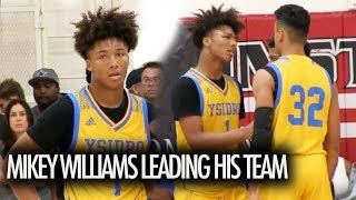 Mikey Williams PROVES He Is A Leader! Battles Tough Competition!