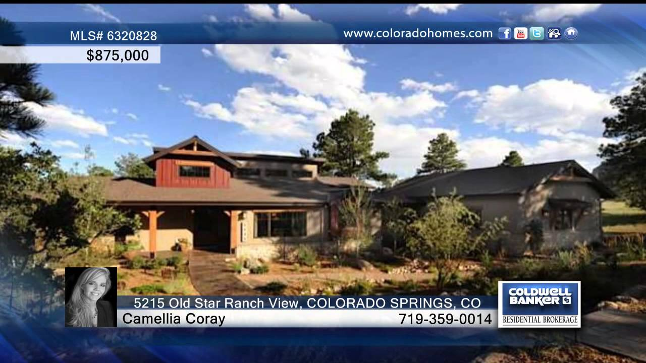 5215 Old Star Ranch View COLORADO SPRINGS, CO Homes for Sale |  coloradohomes com