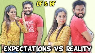 Girlfriend Boyfriend | Expectations vs Reality | BakLol Video |