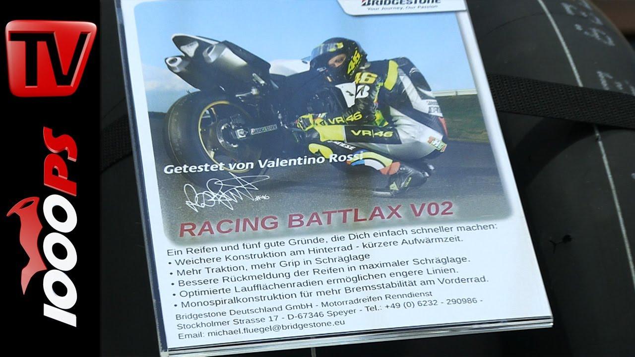 Bridgestone Racing Battlax V02 -Motorrad Slick 2014