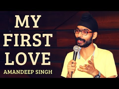 MY FIRST LOVE | Amandeep Singh | Aao Kahen Dil Ki Baat | The Habitat | 02 Oct 2017
