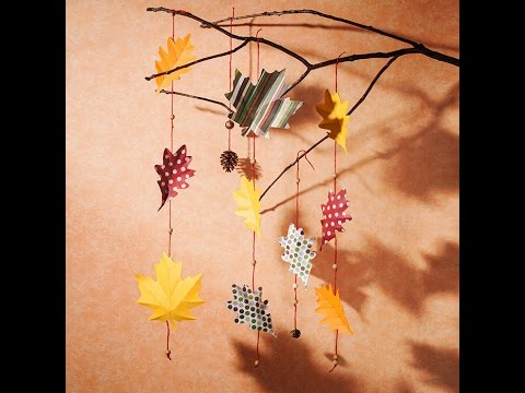 Canvas Project : Leaf Garland