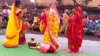 dhamail  dance on the day of 69th Independence day
