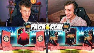 TRAFIŁEM OTW w PIERWSZYM pack'n'play Z LISKIEM!!!  FIFA 20