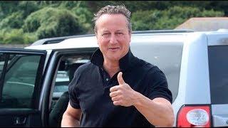 David Cameron, bajo el sol de Costa Rica y ajeno al Brexit