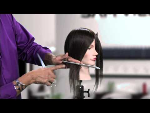 How to Cut an Asymmetrical Bob Without Cutting a Diagonal Line