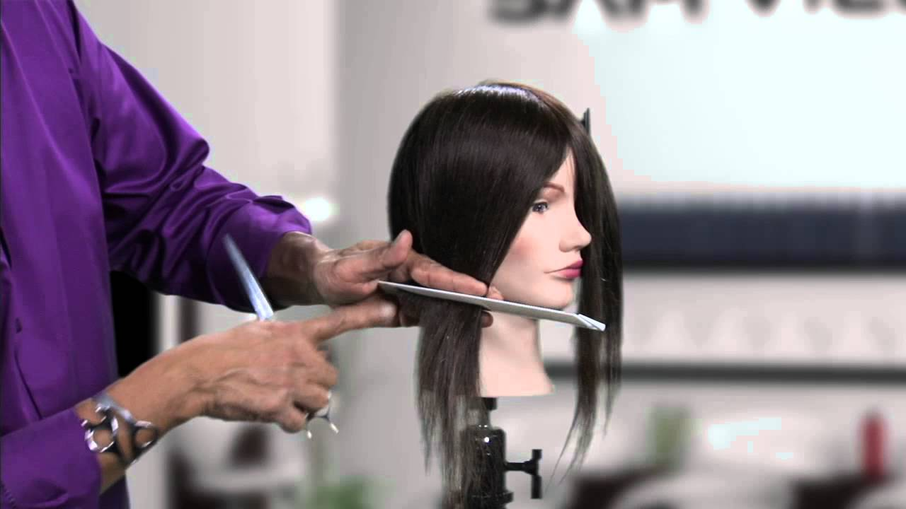 How to cut an asymmetrical bob without cutting a diagonal line how to cut an asymmetrical bob without cutting a diagonal line youtube urmus Image collections