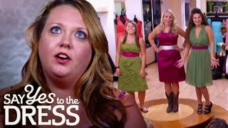 Bridal Party Vote Against Bride's Hideous Dress Choice | Say Yes To The Dress Bridesmaids