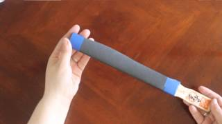 Sand Paper Stick Tutorial Easy