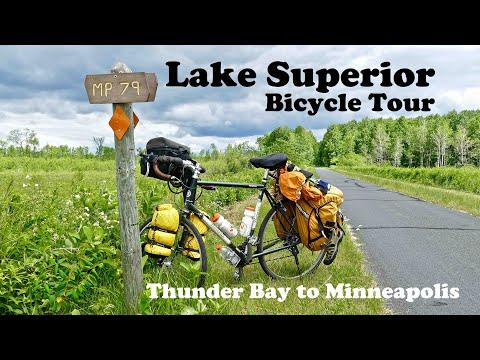 Lake Superior Bicycle Tour Video