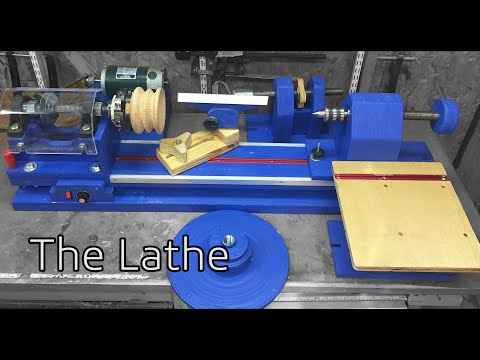 022. How to Build A Lathe Mostly from Wood. Part 1 Intro, And The Plans