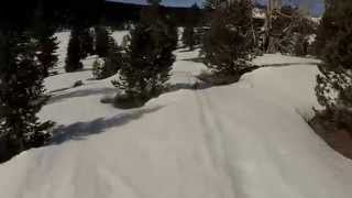 Fat Bike Hops mountain bike Mount Rose trail Bride reno nevada snow rocky extreme downhill hill