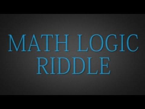 Riddle - Math Logic