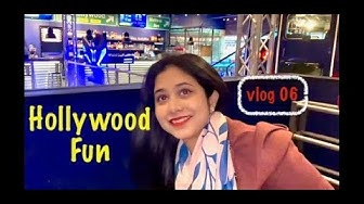 🤪OMG Hollywood🤪|| Wonderful evening in IDEA PARK || Finland 2020 || Vlog 06 || Deshi Couple