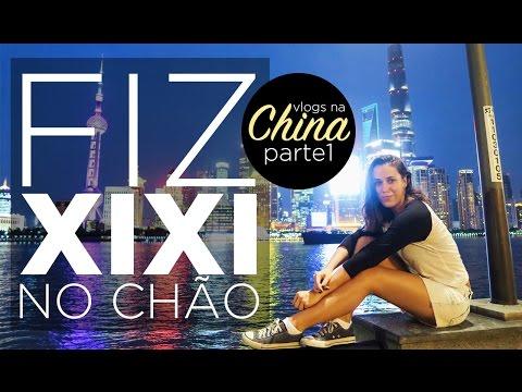 Cintia disse - Eu fui para a China! (Shanghai - parte 1)