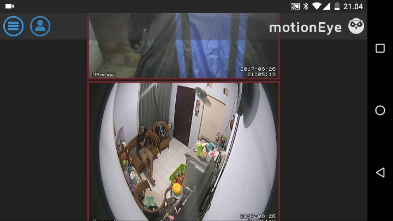 Configure onvif IP camera with motioneye