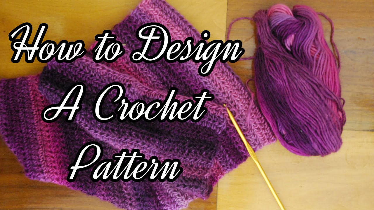 How to design a crochet pattern youtube how to design a crochet pattern bankloansurffo Image collections