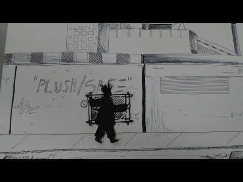 initial basquiat street walk animation