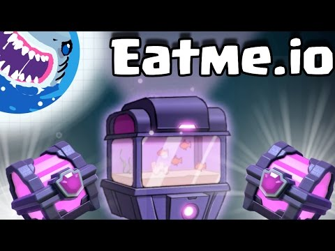 Eatme.io | CLASH ROYALE MEETS AGAR.IO!! MASSIVE SUPER MAGICAL TANK $100 OPENING!!