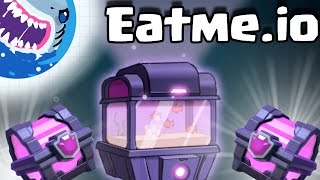 Eatme.io | CLASH ROYALE MEETS AGAR.IO!! MASSIVE SUPER MAGICAL TANK $100 OPENING!!