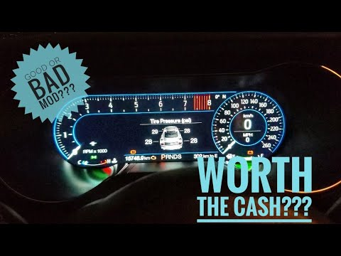 2018-2020 Mustang DIGITAL DASH Full Review!  IS IT WORTH IT???