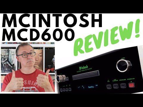 McIntosh MCD600 CD Player Review!