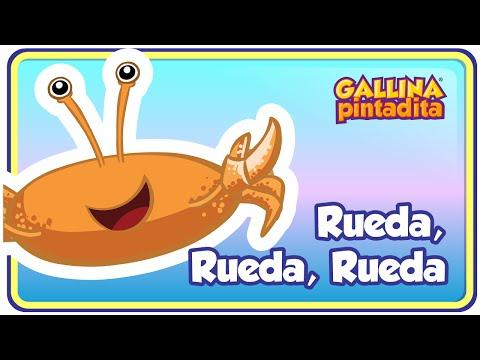 Rueda, Rueda, Rueda - Gallina Pintadita 3 - Oficial - Canciones infantiles para niños y bebés