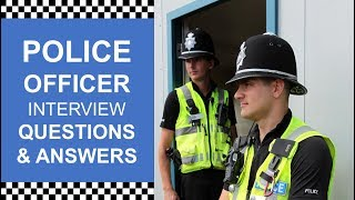 """POLICE OFFICER INTERVIEW QUESTION - """"Why Do You Want To Become A Police Officer? BEST Answer!"""