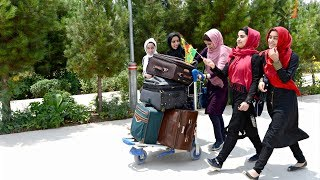 Афганских девушек пустили в США на Олимпиаду по робототехнике по просьбе «сверху» (новости)