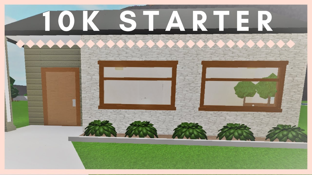Welcome To Bloxburg: 10k Starter Home - YouTube