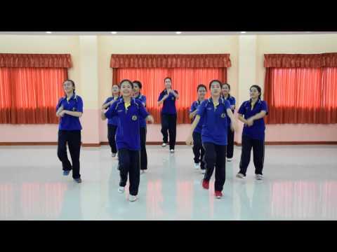 ประกวดท่าเต้นประกอบเพลง พลเมืองเป็นใหญ่ โรงเรียนศรัทธาสมุทร สพม 10