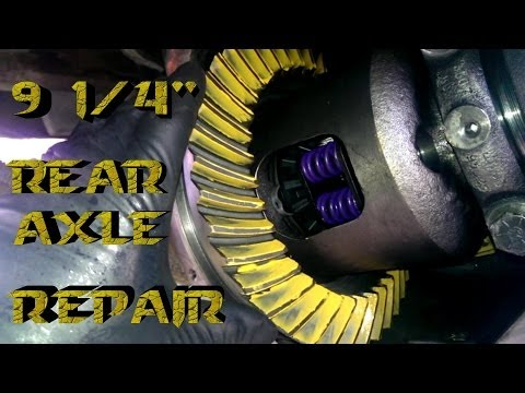 """How To Rebuild 9 1/4"""" Rear End 1970-2009"""