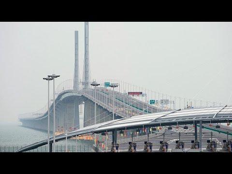 La Chine Ouvre Le Plus Long Pont Maritime Au Monde