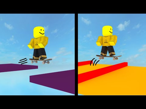 Download ROBLOX Obby but with a Skateboard...