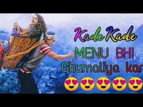 Kade Menu Film Dikha Diya Kar    Sakhiya    Neha Malik&manindar Butter    Kedarnath    Quikstory
