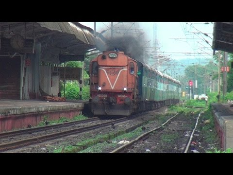 Compilation of Powerful Diesel Locomotives In India (ALCO & EMD Class Of Locomotives)