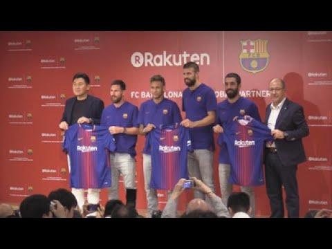 """El Barça y Rakuten presentan su acuerdo y destacan sus """"valores comunes"""""""