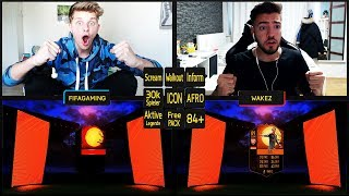 FIFA 18 - VERRÜCKTES HALLOWEEN PACK OPENING BATTLE vs. WAKEZ! 🔥🔥 - Ultimate Team Deutsch