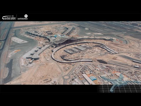 Abu Dhabi International Airport – Midfield Terminal Building Development progress 20 May 2015