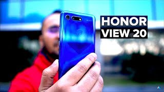 [HINDI] Honor View 20 hands on REVIEW and UNBOXING [CAMERA, GAMING, BENCHMARKS] Honor V20 India!
