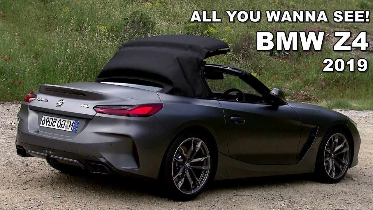 New Bmw Z4 2019 Exterior Interior Roof Action Test Drive