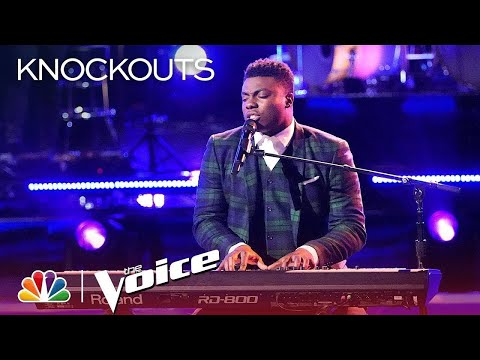 """The Voice 2018 Knockouts - Kirk Jay: """"In Case You Didn't Know"""""""