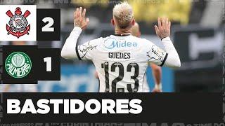 BASTIDORES de CORINTHIANS 2 x 1 Palmeiras - Brasileirão 2021